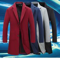 Wholesale winter coats japan - Men s clothing Jacket Mens Warm Parka Winter Thick Fur Down Coat Outwear Down Jacket Comfortabel Warm Hot Sell Fashion