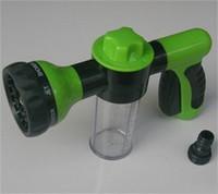 ingrosso buon giardinaggio-Acqua Zoom Giardini Spruzzi Sprinkler Brush Car Foam Gun Pet Bagno di plastica di buona qualità Bagno Shower Heads 18 8zb dd
