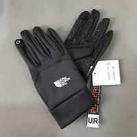 gants de marque achat en gros de-Dropshipper NF Marque Écran Tactile gants Designer Hiver Sport En Plein Air Chaud Plein Doigt Gants Guantes Gants De Vélo pour hommes et femmes