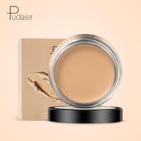 ingrosso fondazione primer labbra-Pudaier Concealer Cream Hide Blemish Viso Lip Makeup Natural Brighten Base Foundation Primer Perfect Cover Cosmetici maquillaje