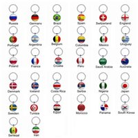 Wholesale Cup Accessories - Football Keychains World Cup Keyrings Flags Soccer Fans Souvenir Fashion Men Women Key holder Accessories Wholesale