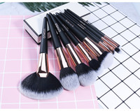 Wholesale multi function lips resale online - TOP A quality O TWO O multi function brush set foundation eye shadow face lip brush kit DHL