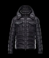 Wholesale fashion design clothing for men for sale - Men Jacket Luxury design waterproof fashion style Polar Down Jacket Long Sleeves Winter Top For Men Luxury Brand Clothing