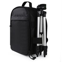 Wholesale camera bag pads for sale - Group buy Video Photo Camera Waterproof Padded Backpack Bag Multi functional Photography Travel Camera Bag For Canon Nikon DSLR