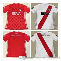 Wholesale Football Bedding - 2017 Independiente River plate bed football Jerseys thai quality 17 18 8 SANCHEZ 9 CAVENAGHI 7 MORA football Jerseys free shipping