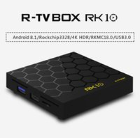 Wholesale android pc smart tv box for sale - RK10 Android TV Box GB GB Smart Mini PC RK3328 Quad Core TVbox G Wifi Streaming Media Player D USB3 Android8 Set Top Box
