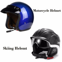 Wholesale Communication Bluetooth - NEWEST SCS ETC S-6 Wireless Bluetooth Motorcycle Helmet Headset Helmet Communication Systems for Motor Motorbike and Skiing