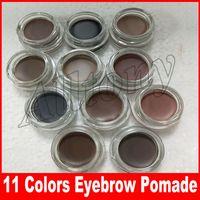 Wholesale Wholesale Hot Chocolate Mix - HOT Eyebrow pomade Cream Waterproof Makeup Eyebrow 4g Blonde Chocolate Dark Brown Ebony Auburn Medium Brown eyebrow gel 11 colors