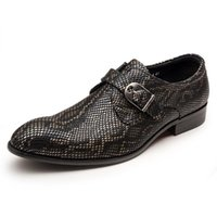 Wholesale fall style tips - Fashion Italian Style Men Genuine Leather Oxfords Shoes Lace Up Casual Flat Business Dress Shoes Metal Tips