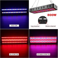 Wholesale blooming lamp resale online - 3535 LED Grow Light W W W W Spectrum veg bloom Switch Panel Lamp Full Spectrum Indoor Garden Lights Plants hydroponic lights