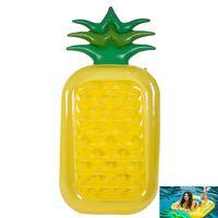 şişirilebilir havuz salları yüzdürüyor toptan satış-180 * 90 cm Şişme Ananas Havuzları Şamandıra Raft Büyük Açık Yüzme Havuzları Şişme Şamandıra Oyuncak Salonu Oyuncak Yetişkinler ve Çocuklar için HH7-1