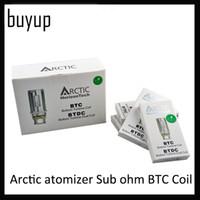 auténtico aspire nautilus bobina 1.6ohm 1.8ohm al por mayor-Horizon Tech Arctic atomizador Sub ohm BTC Coil y BTDC bobina 0.2 0.5 1.2ohm bobinas para atomizadores árticos Tanques Quality 0202035