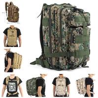 Wholesale camping rucksacks resale online - 3P Outdoor Tactical Backpacks Unisex Outdoor Travel Bag Mountaineering Hiking Backpack Camping Trekking Rucksack mk790