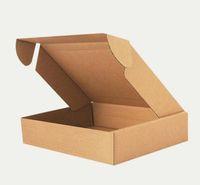 favor da festa da caixa de sabão venda por atacado-Atacado-100pcs caixas de embalagem de papel Kraft 20 * 14 * 4cm casamento / Party Favor Soap / Bolo / Macaron / Cookie Embalagem Gift Box SN1704