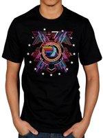 espaço da máquina venda por atacado-Hawkwind oficial em busca de espaço t-shirt Space Rock Band Silver Machine