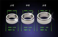 головные устройства оптовых-3 шт. / лот 26 28 30 мм головки пениса кольца гладкая нержавеющая сталь петух кольцо мужской целомудрие устройство пенис рукав для взрослых Секс-Игрушки для мужчин