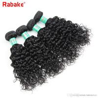 işlenmemiş bakire saç hızlı nakliye toptan satış-Sınıf 9A Perulu İnsan Saç Paketler Su Dalga Rabake Virgin İnsan Saç Uzantıları Siyah Kadınlar için Dalgalı Örgü Hızlı Kargo 100 Işlenmemiş