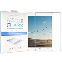 9,7 ipad groihandel-9H Ausgeglichenes Glas für iPad 2019 10,2 2018 9,7 2017 Glass für iPad Air 2 Mini 1 2 3 4 Pro 10,5 Zoll-Schirm-Schutz-Schutzfolie