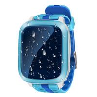 ingrosso guardare gsm sos-Impermeabile Smart baby orologio DS18 GSM GPS WiFi localizzatore Tracker per bambini orologio da polso SOS chiamata baby Smartwatch per iOS telefono Android