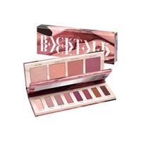 ingrosso paletta ombretto pieno formato-2018 Hot BackTalk 12 colori Eyeshadow Palette Eye & Face Palette Evidenziatore Blush Ombretto DHL gratuito