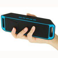 ionensprecher für großhandel-Mini-Bluetooth-Lautsprecher MP3 WMA Audio-Player TF-Karte USB-Leser-Slot FM Radio Li-Ion-Akku Handy-Computer