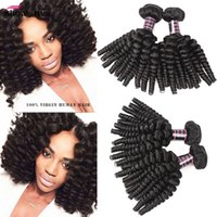 Wholesale afro kinky brazilian hair weave for sale - Group buy Peruvian Curly Hair Afro Kinky Curly Bundles Deals Unprocessed Peruvian Virgin Hair Afro Wave Curly Peruvian Virgin Hair Bundles