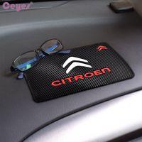 accesorios para el automóvil estera del coche al por mayor-Accesorios para automóviles Alfombrilla antideslizante auto Alfombrilla antideslizante para Citroen c2 c3 c4 4l c5 picasso xsara elysee berlingo Diseño de autos