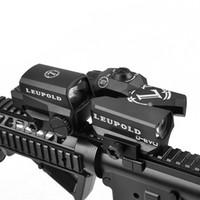 optik nişangah tüfeği toptan satış-LEUPOLD D-EVO LEPOLD LCO ile Çift Geliştirilmiş Görüş Optik Reticle Rifle Kapsamı Büyüteç Red Dot Sight Refleks Sight Tüfek Manzaraları