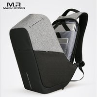 Wholesale laptop 15inch - Multifunction USB charging Men inch Laptop Backpacks For Teenager Fashion Male Mochila Leisure Travel backpack anti thief