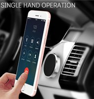 Wholesale iphone car stick online – Multifunction Magnetic Mobile Phone Car Holder Stand Mobile Phone Holder Paste for iPhone Plus Car Phone Stand Stick Anywhere