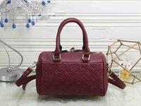 Wholesale black leather duffle - Women designer handbags luxury brand duffle bag pu leather messenger crossbody bags tote clutch travel bag