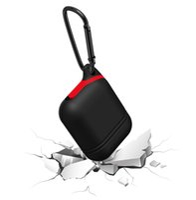estojos de corda venda por atacado-Para Apple Airpods Silicone Caso Capa Protetora Bolsa com Anti Perdido Rope Dust Plug Gancho para Air Pods Bluetooth Fones De Ouvido Fones De Ouvido