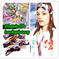 Wholesale original silk scarves - A03G- Original New classic color 100% top silk scarf ,luxury silk scraves,100% Top grade silk headband, size 110*110cm