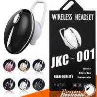 goldkäfer groihandel-JKC-001 MINI drahtloser Bluetooth Kopfhörer-Käfer-Entwurfs-einzelner Kopfhörer-Kopfhörer-Sport-Fahrer-Kopfhörer für Iphone 9 XS Samsung Smartphone