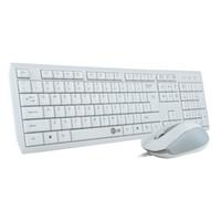 ordinateur portable qwerty achat en gros de-V100 clavier et souris combo super mince filaire multimédia qwerty blanc clavier souris ensemble pour ordinateur de bureau ordinateur portable smart tv