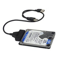 festplattenlaufwerk großhandel-Neue USB3.0 + 2.0 zu SATA 22Pin Kabel für 2,5 zoll HDD Festplatte Solid State Stick QJY99