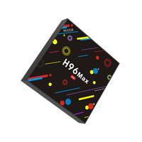 çekirdek süper toptan satış-Serin Süper Android 7.1 TV Kutusu 4 GB 32 GB Rockchip RK3328 Dört Çekirdekli Akıllı Mini PC 2.4G / 5G Wifi Bluetooth Streaming Media Player H96 Max H2 2018