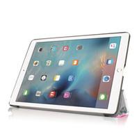 gedruckte ipad abdeckungen großhandel-Tablet-Hüllen für Apple ipad PRO 9.7-Zoll-Art- und Weisedruck PU-Leder-Stand-faltender dünner schützender Abdeckungs ipad Pro 9.7