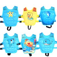 Wholesale baby swim life jackets - Owlwin Life Jacket baby Foam life jacket Water Sports Learn Swimming age 2-6 weight 10-25kg Baby Children Kids pool