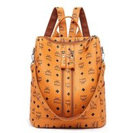 torbalar ücretsiz gönderim avrupa toptan satış-Sıcak satış tavsiye Avrupa ve Amerika bayanlar sırt çantası yüksek kalite moda baskı sırt çantası büyük kapasiteli seyahat çantası ücretsiz kargo