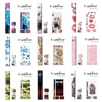 Wholesale electronic cigarette covers - 200 Designs ! Wraps For Juul Kits Customized Paper Cover Sticker Electronic Cigarette Skin With Logo For Juul USB Skin