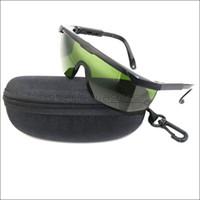 lila augengläser großhandel-SDLasers T7S8-C Schutzbrille für 405nm Lila Strahl 450nm Blue Ray 650nm Rote Laserpointer UV Laser Augenschutz Schutzbrille mit Etui