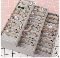 braceletes de zircão venda por atacado-2018 de Prata Esterlina Primavera 1 Linha de Linha Clara Rhinestone Pulseira De Cristal Pulseiras de Tênis Cubic Zircon Bangles