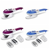 Wholesale ironing steamer for sale - Group buy 2 in Handheld Garment Steamer Portable Travel Electric Iron Steamer For Ironing Clothes With Steam Brush Laundry Products GGA1203