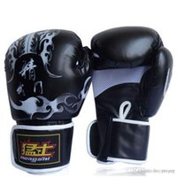 Wholesale kung fu gloves online - New Muay Thai Training Mitt Kung Fu Beginner Martial Arts Gloves MMA Free Combat Boxing Gloves Punching Bag With Professional Boxing Match