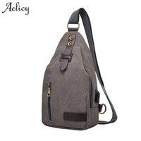 большие телефоны оптовых-Aelicy Crossbody сумки для женщин 2018 USB зарядки Smart Anti theft сумки на ремне Messenger грудь сумка мужчины большой телефон сумка