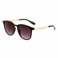 пляжные солнцезащитные очки бренды оптовых-Отличное качество модный бренд дизайнер солнцезащитные очки ретро металлический каркас солнцезащитные очки для женщин UV400 линзы Cat Eye Beach Eyewear Eyeglasse