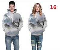 3d drucken armee männer großhandel-Frauen Männer 3D Print Sweatshirts Mode Kleidung Coole Armee Grün kanye Hoodies Farbe Jumper Herbst Winter Outfits Unisex Pullover