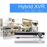 Wholesale 16CH Super XVR All HD P in DVR CCTV Surveillance Video Recorder HDMI output with AHD Analog Onvif IP TVI CVI Camera