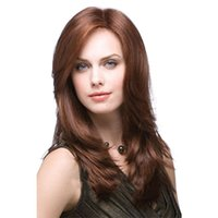 Wholesale synthetic bangs for sale - Hair Cap Cruella Deville Side Bangs Brown High Synthetic Cosplay Wig for Party Curly Anime Daily Hair Cosplay Heat Resistant for Women New